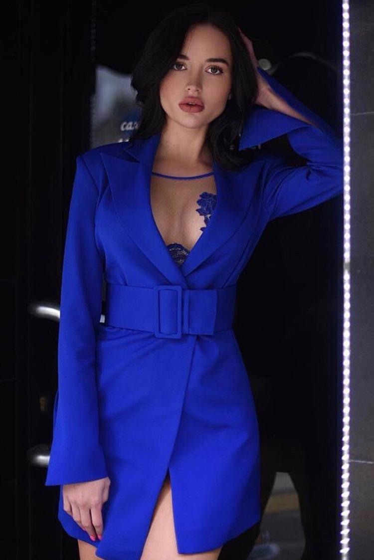 blazer DARELA BLUE - 1