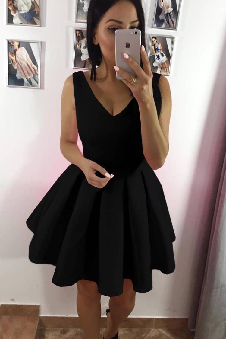 φόρεμα MANOLA BLACK - 1