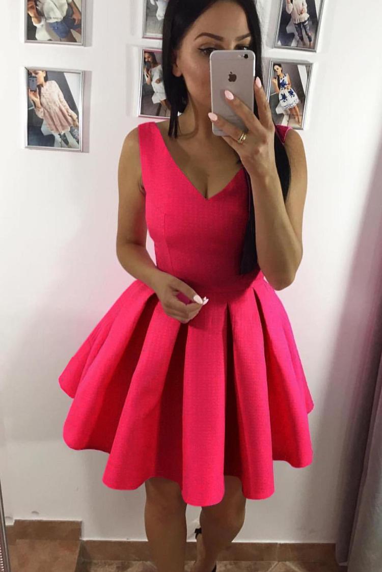 φόρεμα MANOLA FUCHSIA - 1