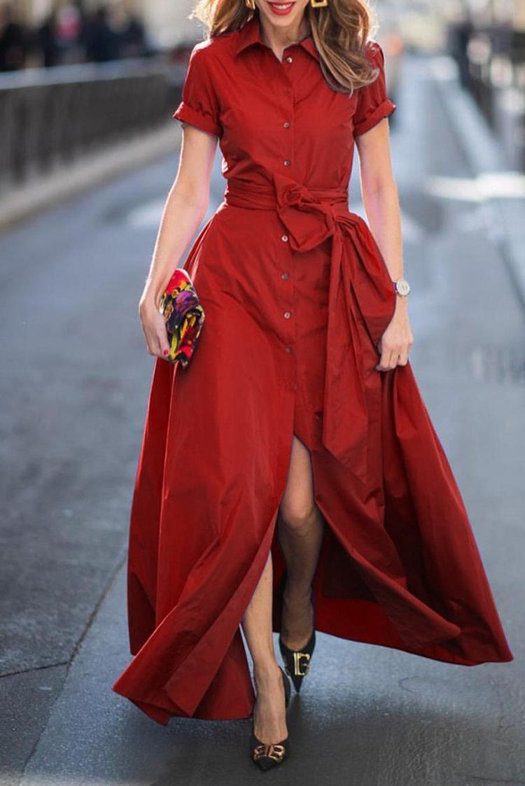 φόρεμα FREDERICA RED - 1