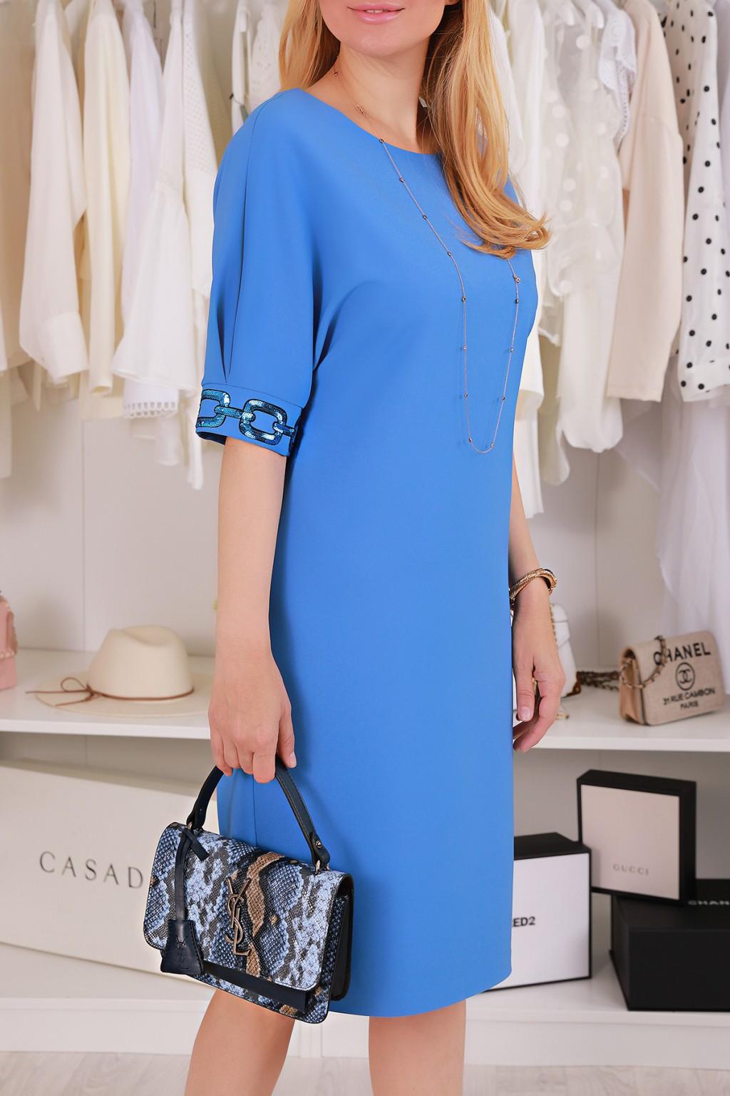 φόρεμα NAVISA BLUE - 1