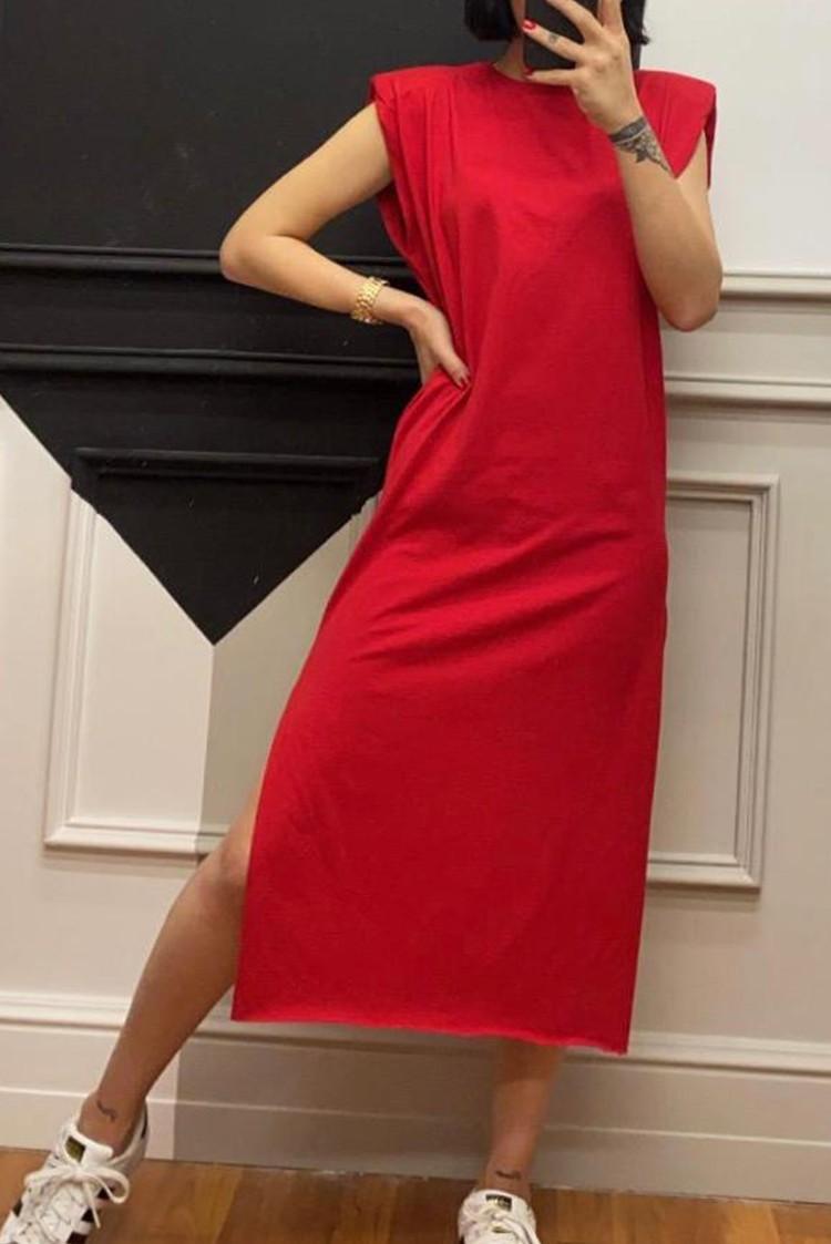 φόρεμα MARLY RED - 1