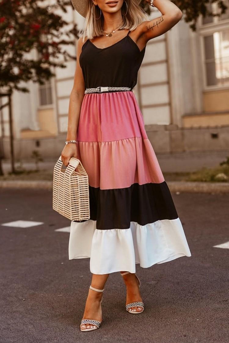 φόρεμα FILIZIA PINK - 1