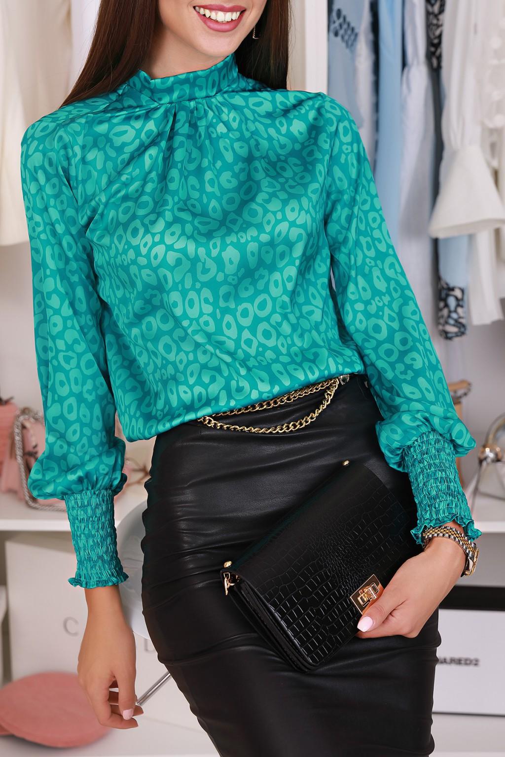 γυναικεία μπλούζα NADINA GREEN - 1