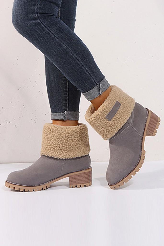 μπότες LARONA GREY – 1