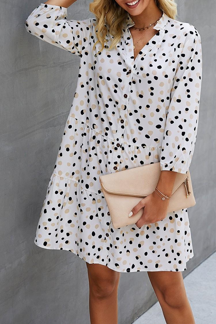 φόρεμα RUFISA WHITE - 1