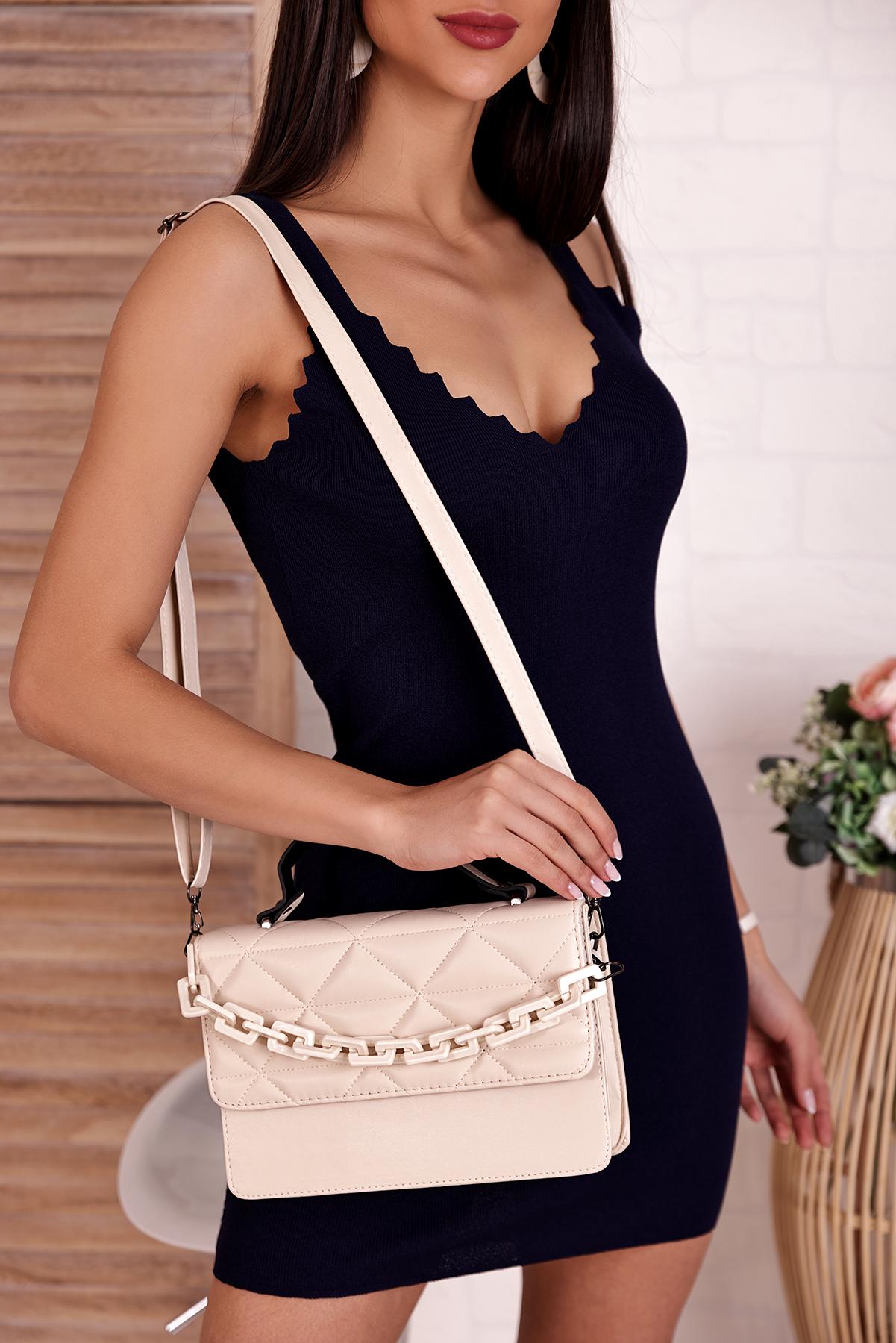 γυναικεία τσάντα VERTENA ECRU - 1