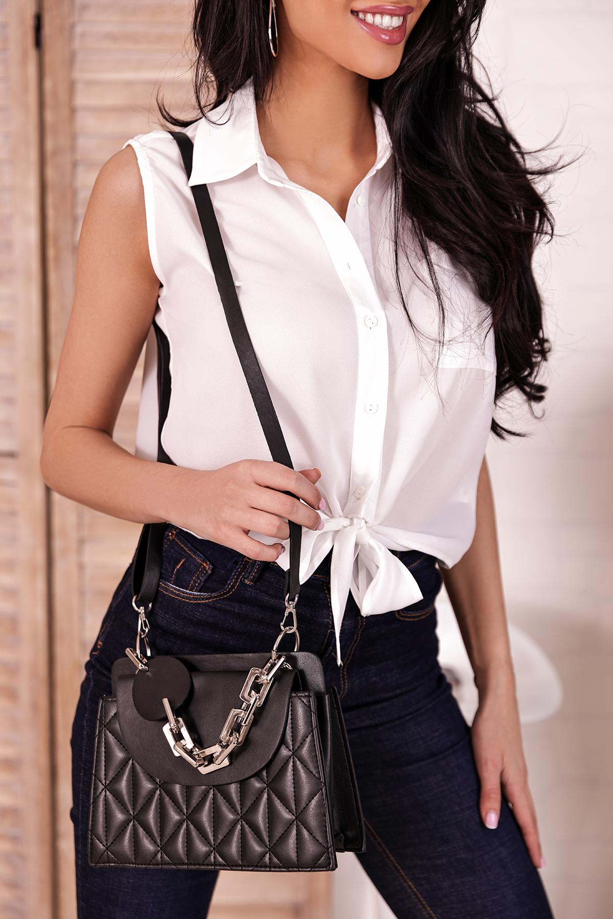 γυναικεία τσάντα PERMANZA BLACK - 1