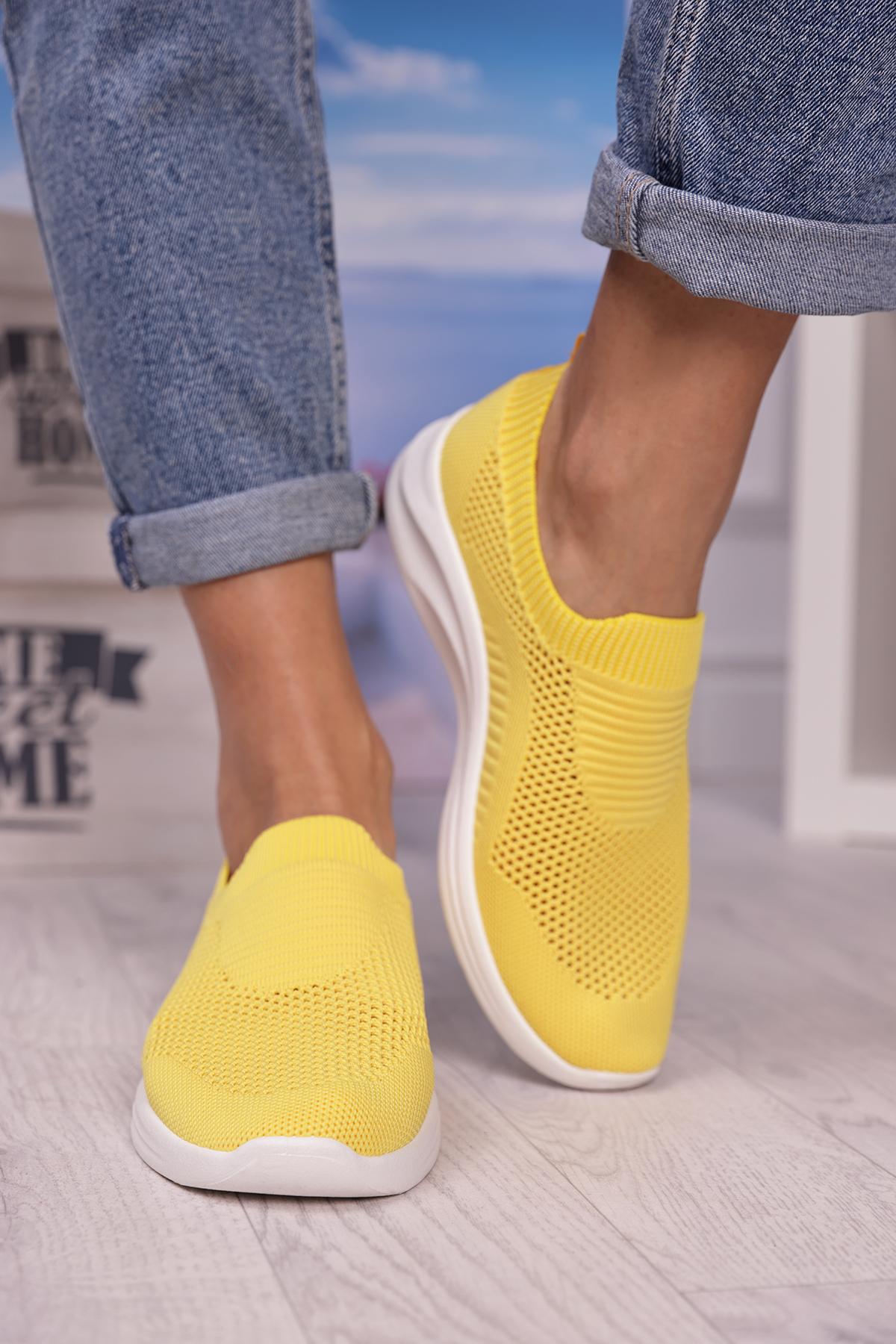 αθλητικά παπούτσια AMARENA YELLOW – 1