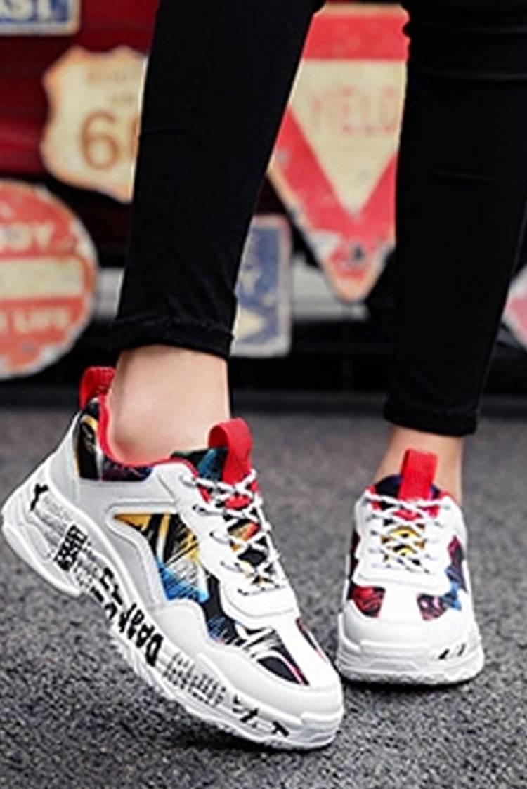 αθλητικά παπούτσια ELENISA RED